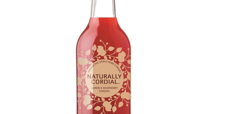 Naturally Cordials Lemon & Raspberry 500ml
