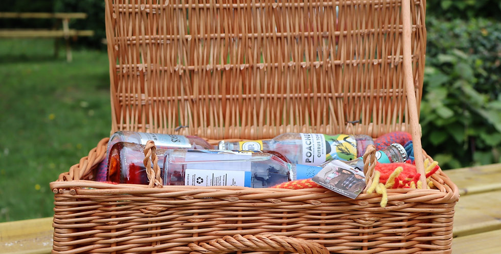 Wicker Picnic Basket (Add this first - Option 2)