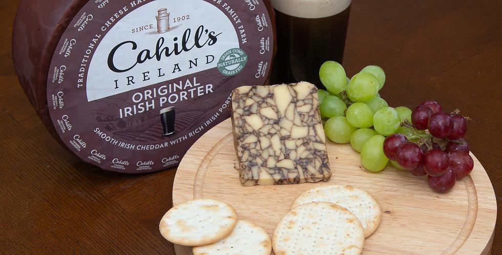 Cahill's Irish Porter Cheddar 190g