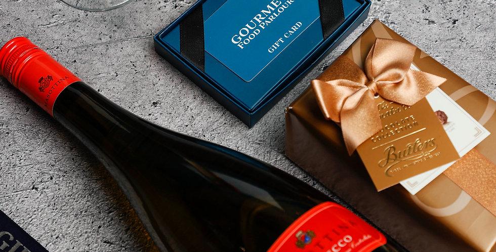 Prosecco Gift Set incl Gift Card & Irish Chocolates