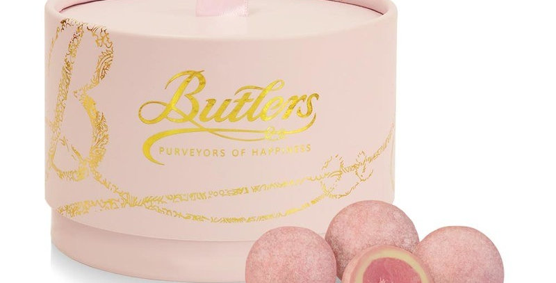 Butlers Pink Marc de Champagne Truffle Powder Puff 200g