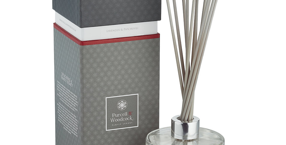 Purcell & Woodcock Signature Diffuser: Lavender & Patchouli (200ml)