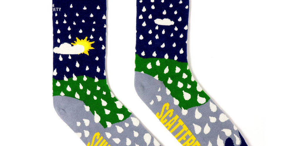 'Sunny Spells and Scattered Showers' Irish Sock Sciety