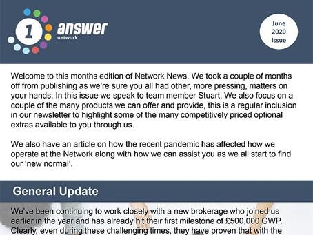 1 Answer Network - June Newsletter