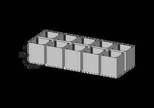 90 modules dissasambed
