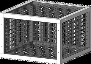 Lattice crate