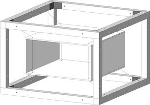 Hanging crate