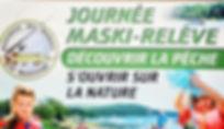 Maski-Relève Pêche Tournoi Lac Maskinongé Doré Achigan Pêcheurs Lanaudière Association Sport Loisirs Pourvoirie APLM APLMaskinonge Poisson Musky