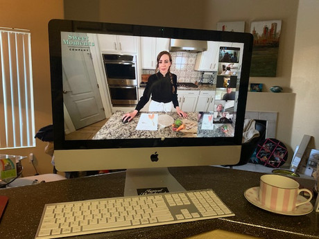 Sweet Moments Company: Embracing Virtual Cooking Classes