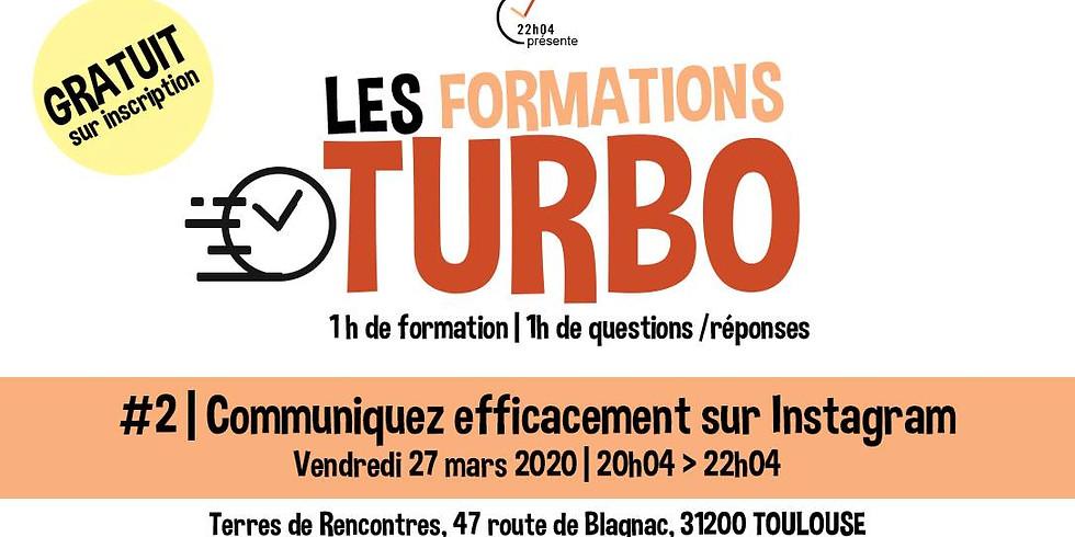 Formation Turbo #2 | Communiquez efficacement sur Instagram