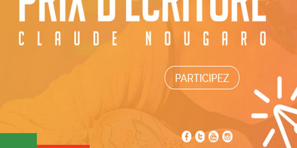 Prix d'écriture Claude Nougaro