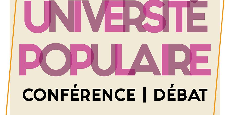 Université Populaire de Toulouse - Conférence Débat