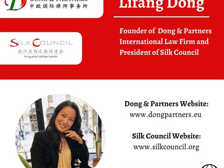 Ms. Lifang Dong interviewed by the Italian American Trade Council