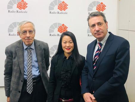 Avv. Lifang Dong talked about Coronavirus at Radio Radicale