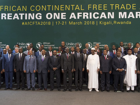 African Continental Free Trade Area entered in force on January 1, 2021