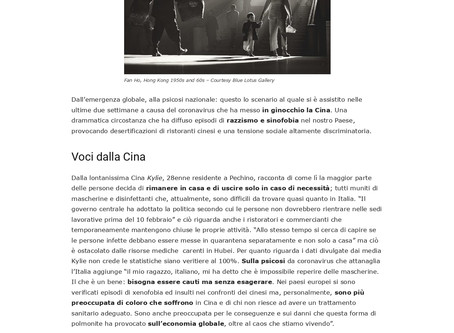 "Avv. Lifang Dong interviewed by the Italian Magazine ""Più Culture"""