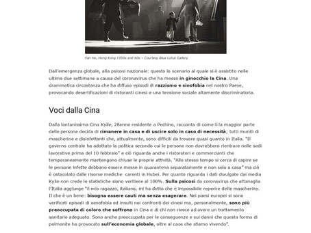 """Avv. Lifang Dong interviewed by the Italian Magazine """"Più Culture"""""""