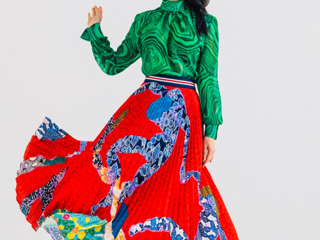 """Avv. Lifang Dong featured in Stella Jean's Vogue social awareness campaign """"Italian in becoming"""""""