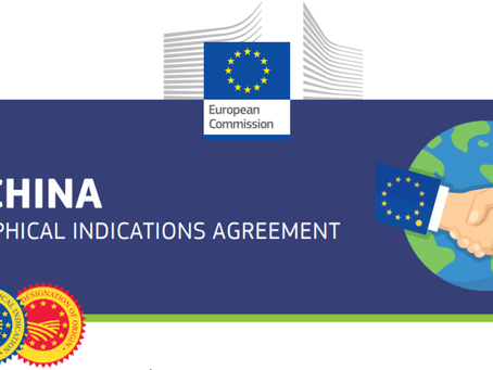 The China-EU Geographical Indications agreement for food & beverage export