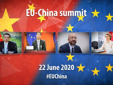 EU-China summit via video conference, 22 June 2020
