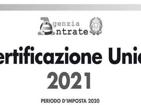 The Italian Single Certification for employees and self-employed collaborators