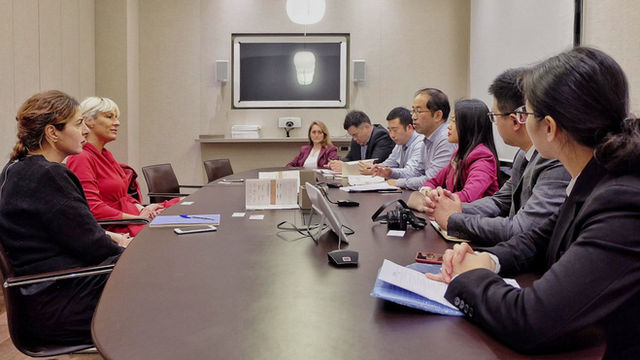 Ningbo Institutional and commercial delegation