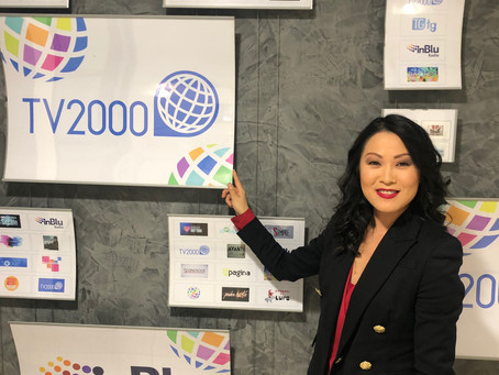 Avv. Lifang Dong talked about Coronavirus at the Italian TV Channel TV 2000