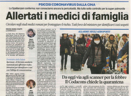 "Avv. Lifang Dong interviewed by the Italian media ""Il Tempo"""