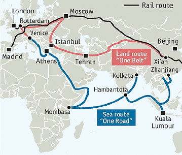 New silk road map.png