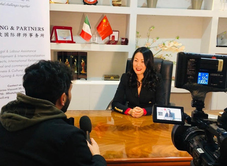 13.2.2020 TG 3: interview to Avv. Lifang Dong