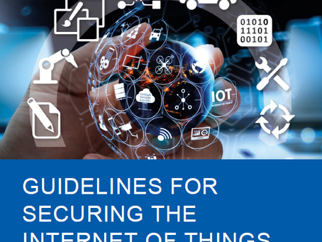 GUIDELINES FOR SECURING THE INTERNET OF THINGS   BY ENISA