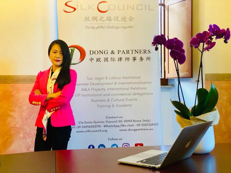 Lifang Dong chosen as testimonial in the fight against Covid-19 by Wenzhou Fed. of Overseas Chinese