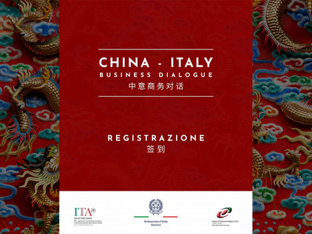 CHINA ITALY BUSINESS DIALOGUE