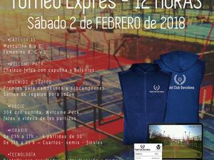 TORNEO EXPRESS 02 de FEBRERO 2019 - Maresme Padel Club