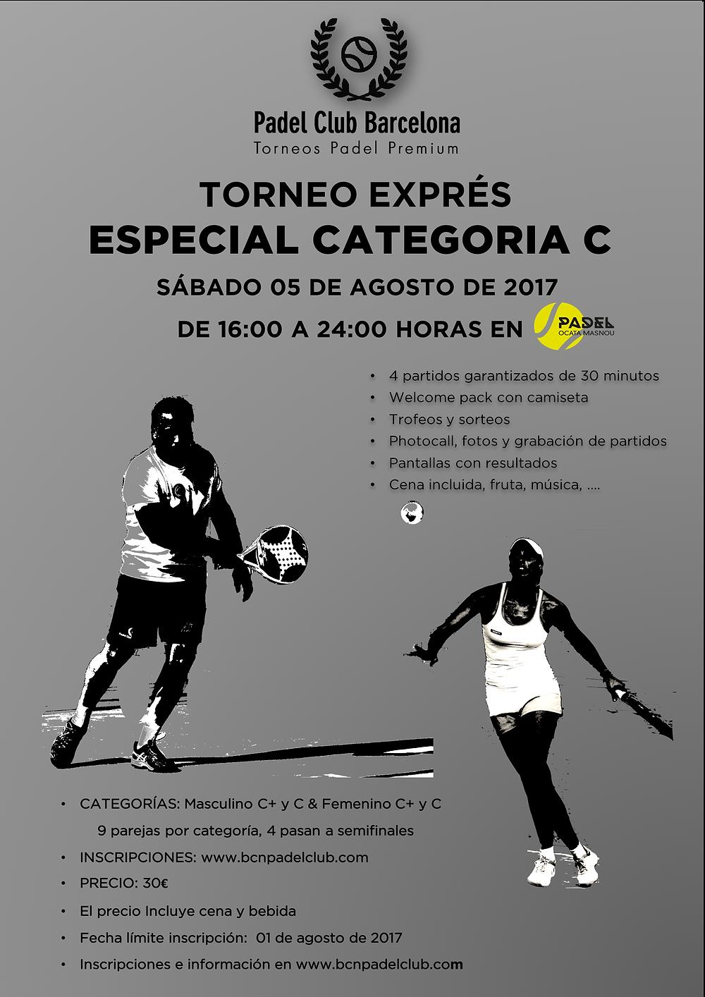 05 DE AGOSTO - PADEL CLUB OCATA-MASNOU