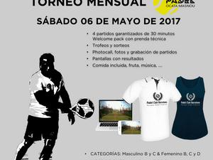 TORNEO MENSUAL 06 DE MAYO - PADEL OCATA