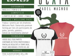 TORNEO -18 de Mayo 2019 - Padel Ocata