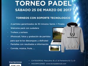 TORNEO 25 DE MARZO - TENNIS CLUB BADALONA
