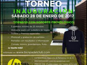 1er TORNEO BARCELONA PADEL CLUB