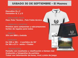 TORNEO 12 HORAS, 30 DE SEPTIEMBRE -  PADEL OCATA       (El Masnou)