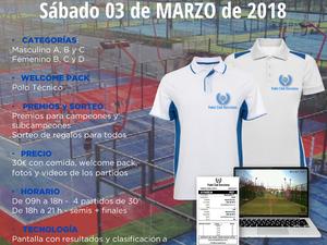 TORNEO EXPRESS 12 HORAS, 3 DE MARZO - MARESME PADEL CLUB
