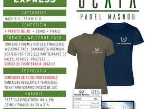 TORNEO EXPRESS - 07 de MARZO 2020 - Padel Ocata Masnou