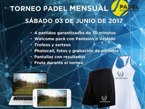 TORNEO MENSUAL 03 DE JUNIO - PADEL OCATA