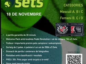 Torneo 5 SETS 18 de noviembre           Vila Sport