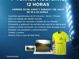 PRIMER TORNEO NOCTURNO 30 DE JUNIO Y 1 DE JULIO - PADEL OCATA