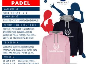 TORNEO EXPRESS 23 de NOVIEMBRE 2019 - Maresme Padel Club