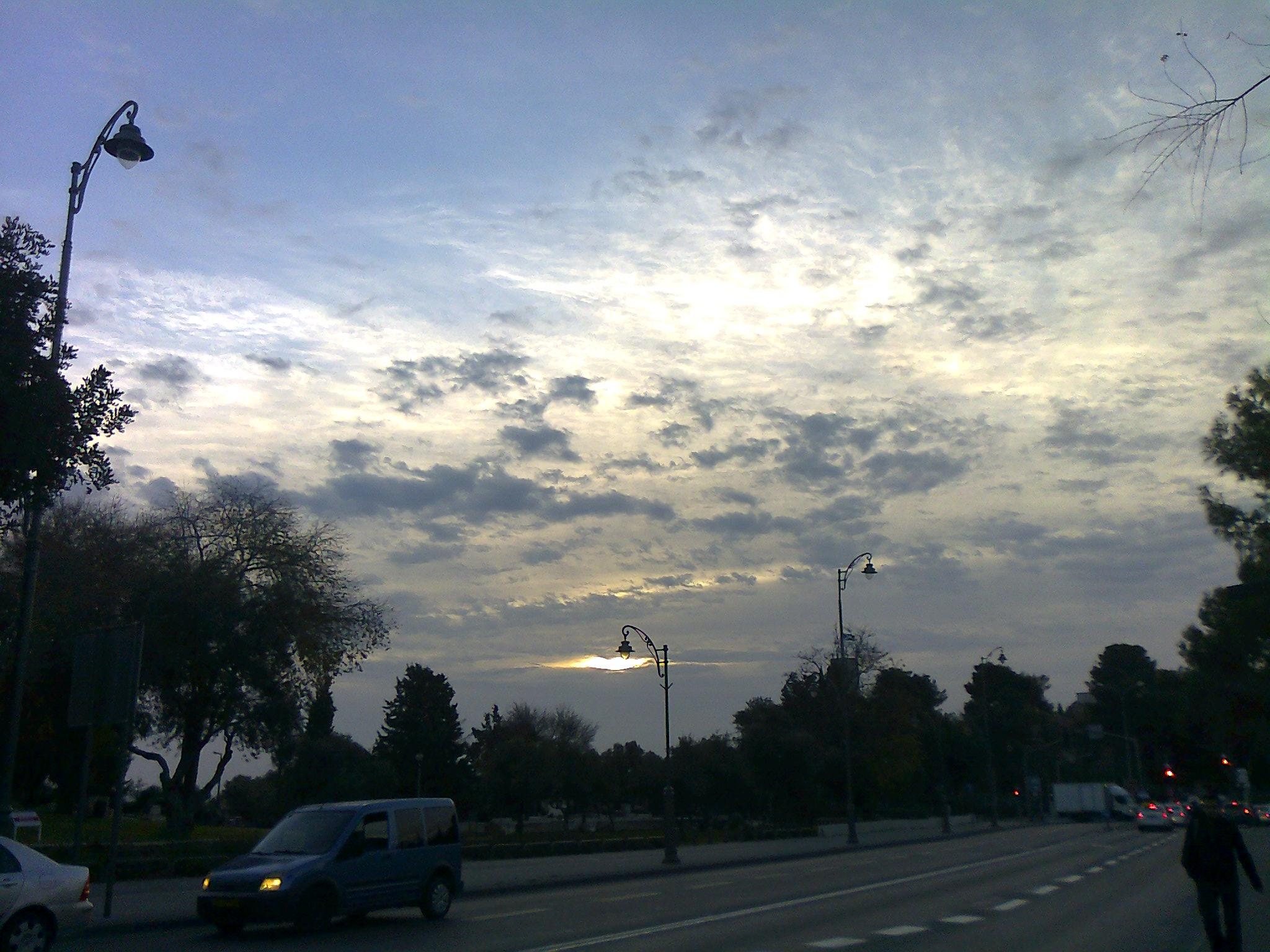Jerusalem Wolken