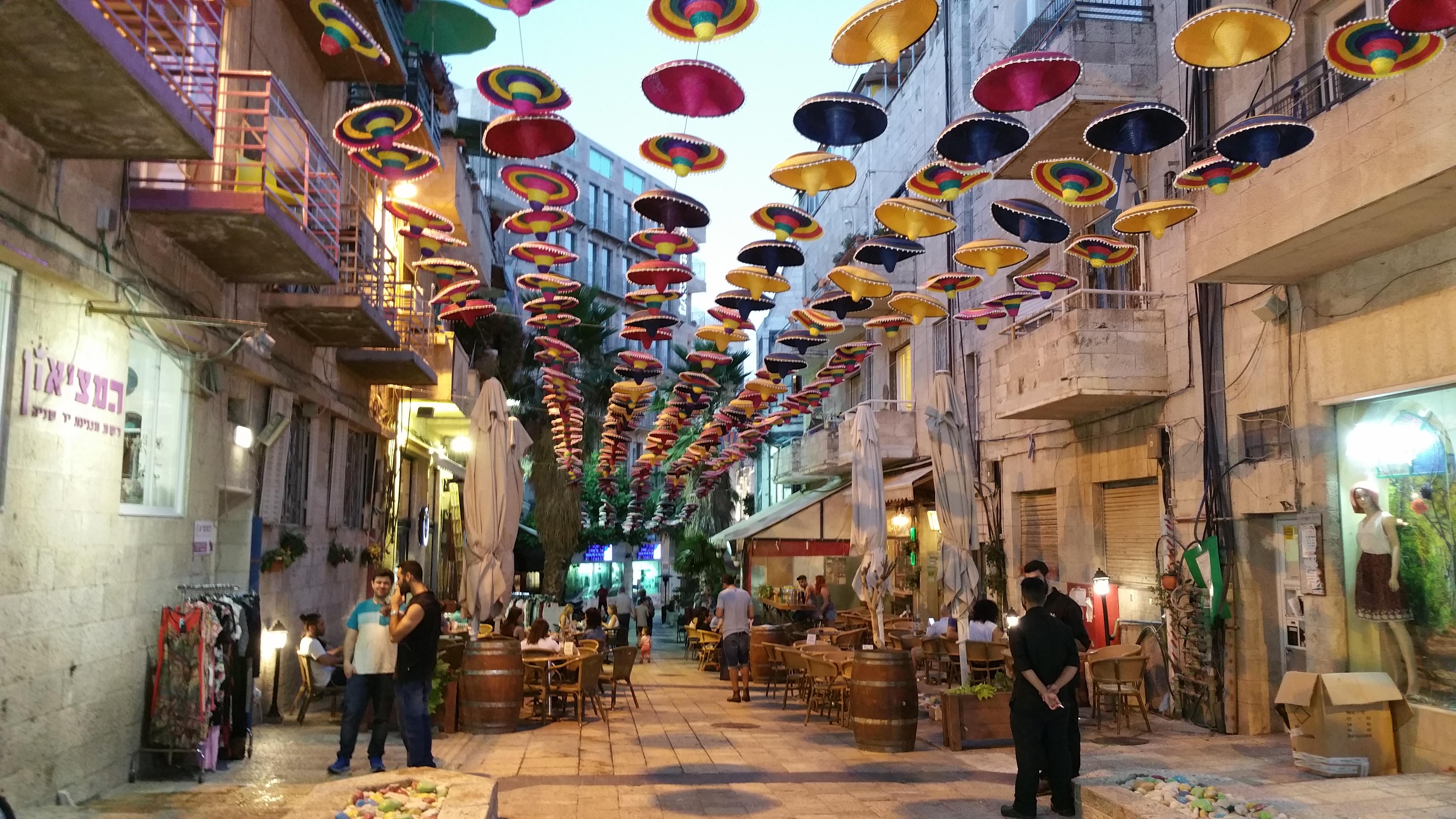 Sommer in Jerusalem