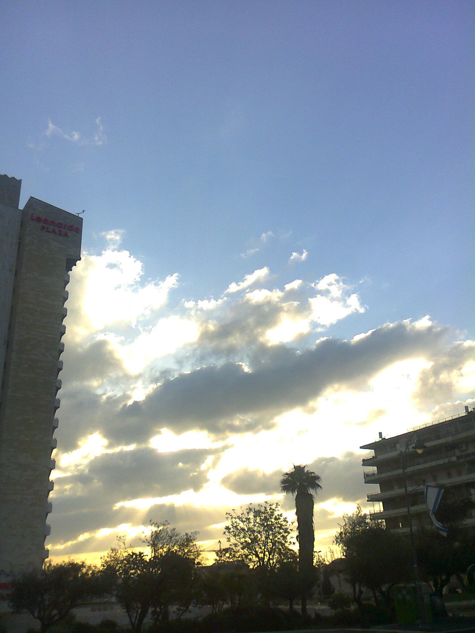 Die Sonne bricht sich Bahn