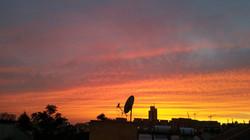 Sonnenuntergang über Nachlaot